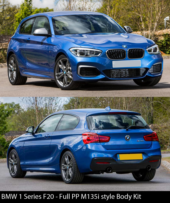 BMW 1 Series F20 M135i Body Kit