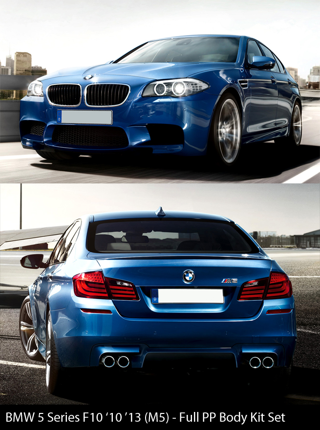 BMW 5 Series F10 M5 Body Kit