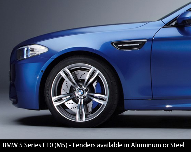 BMW 5 Series F10 M5 Fenders