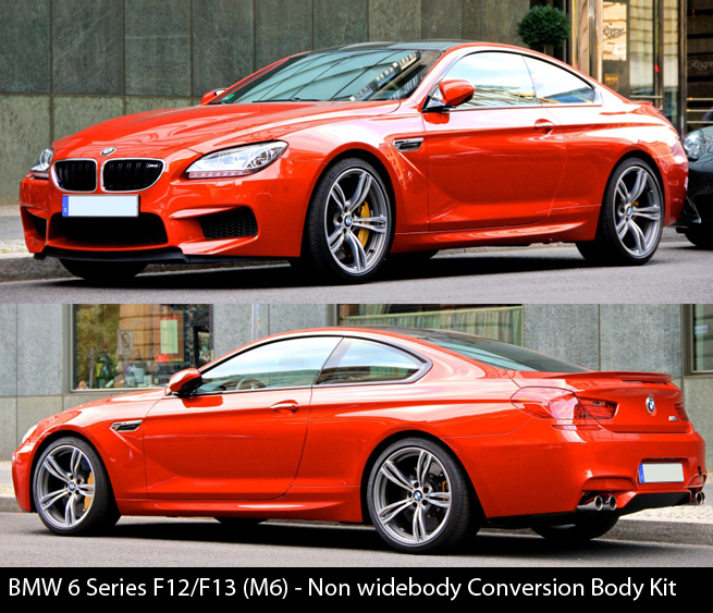 BMW 6 Series F12 F13 M6 Body Kit