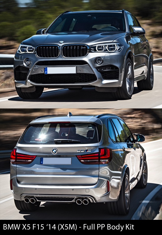 BMW X5 F15 X5M Body Kit
