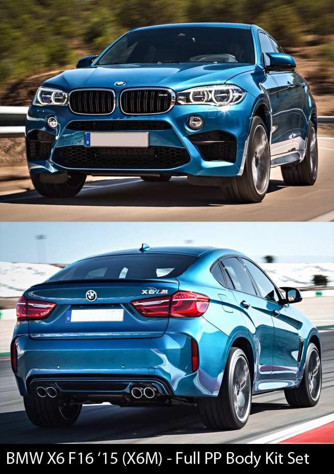 BMW X6 F16 X6M Body Kit