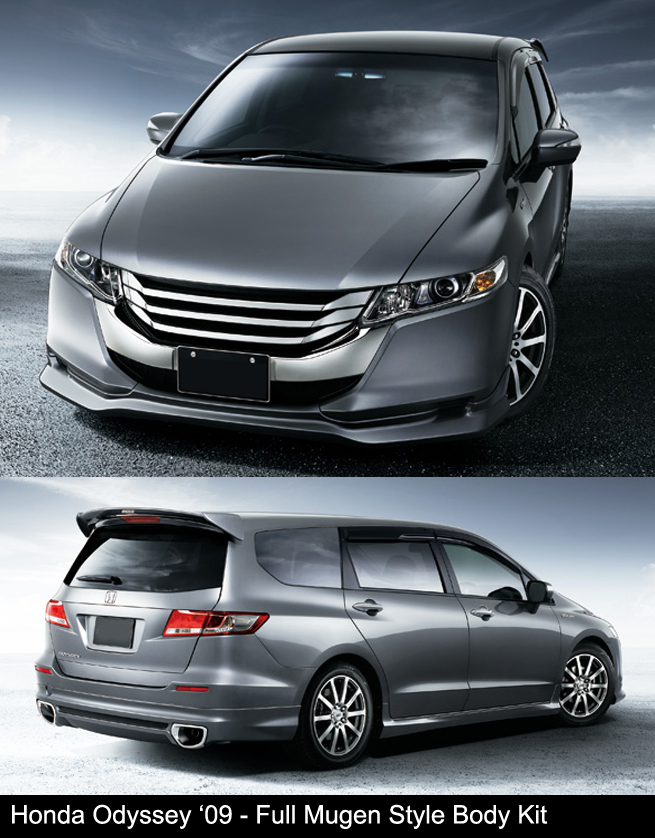 Honda Odyssey 2009 RB3 RB4 Mugen Body Kit
