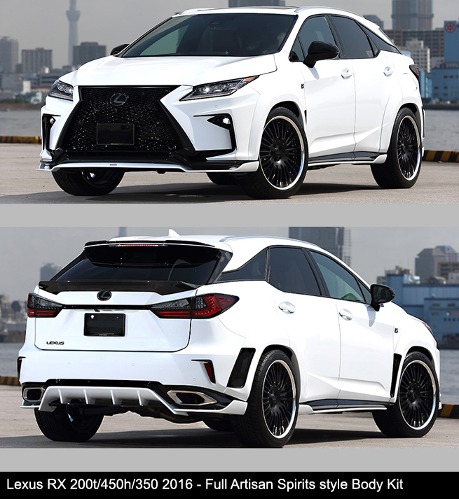 Lexus RX200t RX450h RX350 Artisan Spirits Widebody Body Kit