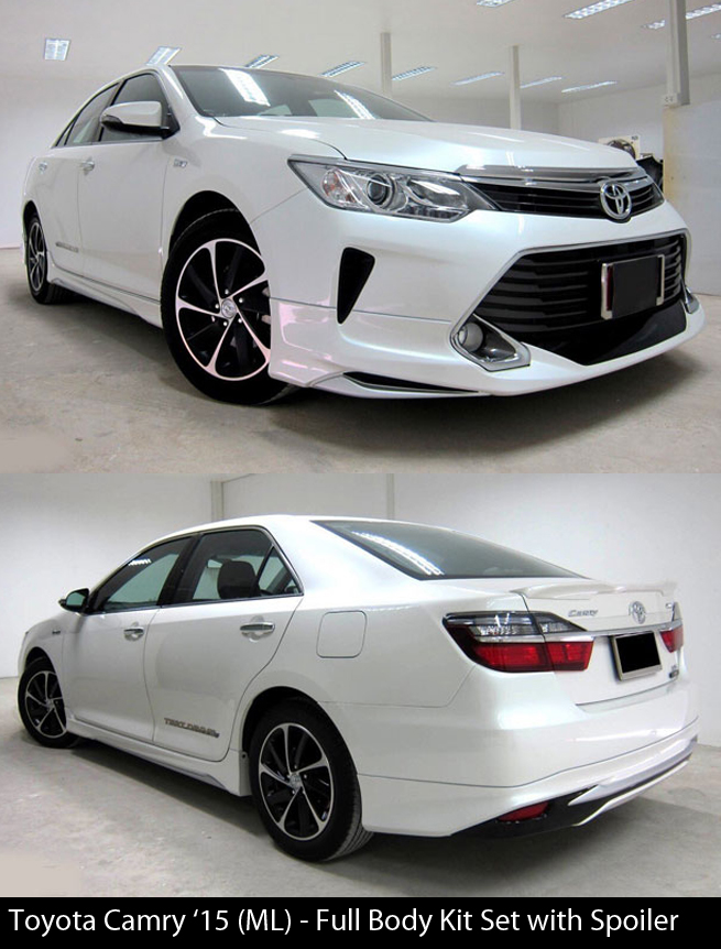Toyota Camry 2015 Modellista Body Kit with Spoiler