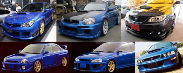 Body Kits for every generation of the Subaru Impreza